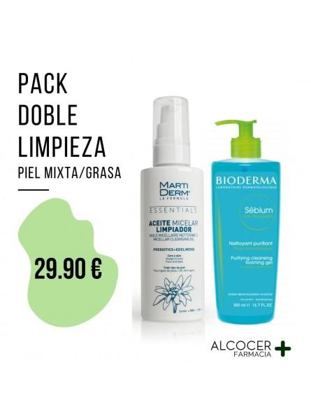 PACK DOBLE LIMPIEZA PIEL MIXTA/GRASA