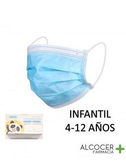 MASCARILLA QUIRURGICA INFANTIL 3 CAPAS WEB 1 UNI