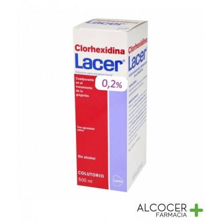 LACER CLORHEXIDINA 0.2% COLUTORIO 500 ML