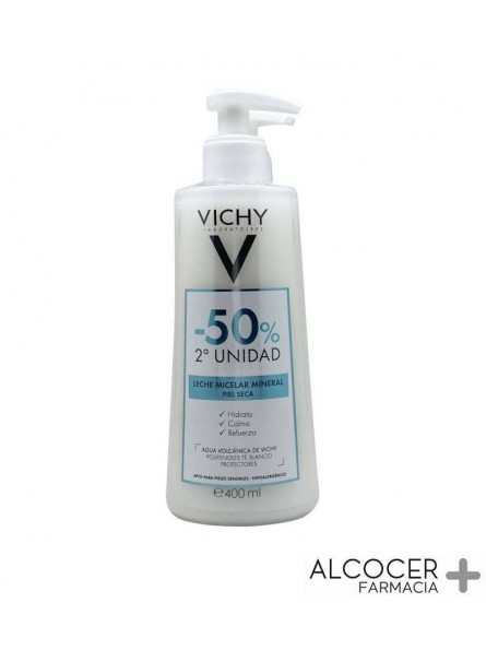 VICHY LECHE MICELAR MINERAL PACK 2 X 400 ML