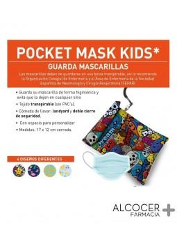 POCKET MASK KIDS GUARDA MASCARILLAS