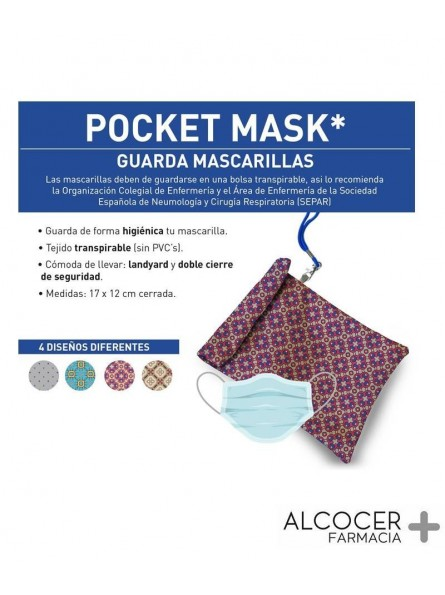 POCKET MASK GUARDA MASCARILLAS