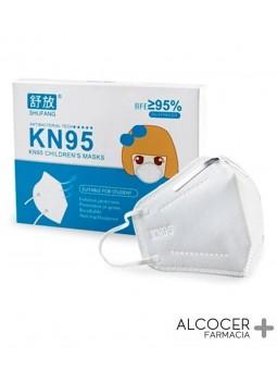MASCARILLA INFANTIL FFP2 KN95 1 UNIDAD
