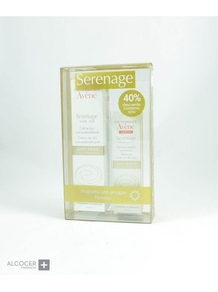 AVENE SERENAGE DIA + SERENAGE OJOS 40% DTO