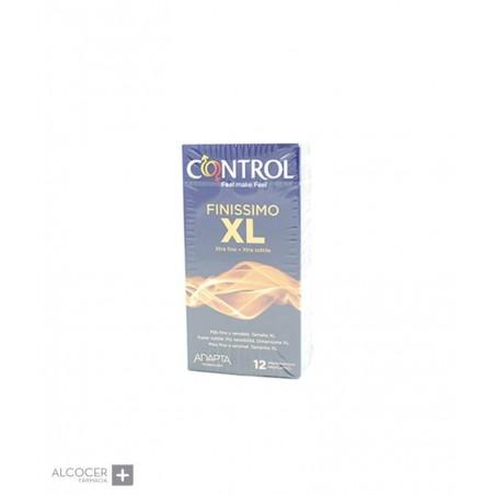 CONTROL FINISSIMO XL 12 PRESERVATIVOS