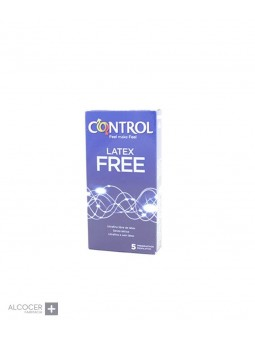 CONTROL LATEX FREE 5 PRESERVATIVOS