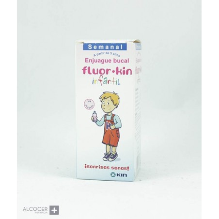 KIN FLUOR KIN INFANTIL COLUTORIO DIARIO 500 ML