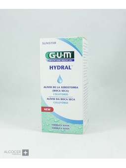 GUM HYDRAL COLUTORIO BOCA SECA 300 ML