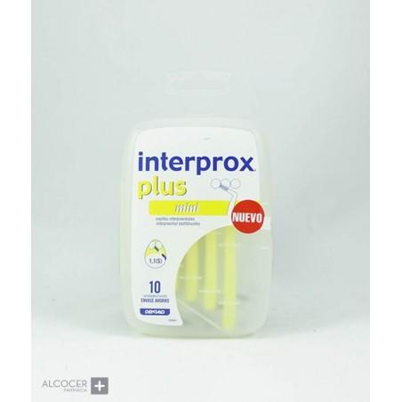 INTERPROX PLUS MINI 10 CEPILLOS