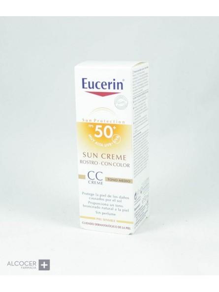 EUCERIN SUN SPF50+ PHOTOAGING CC CREAM 50 ML