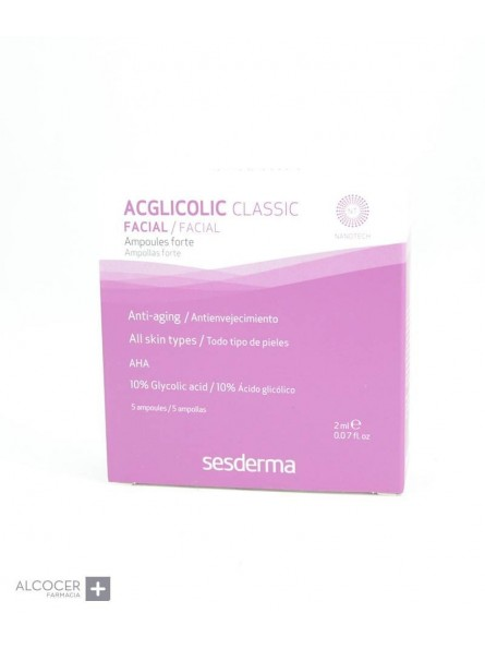 SESDERMA ACG CLASSIC FORTE AMPOLLAS 5 X1,5ML