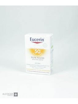 EUCERIN SUN SPF50+ FLUIDO MATIFICANTE 50 ML