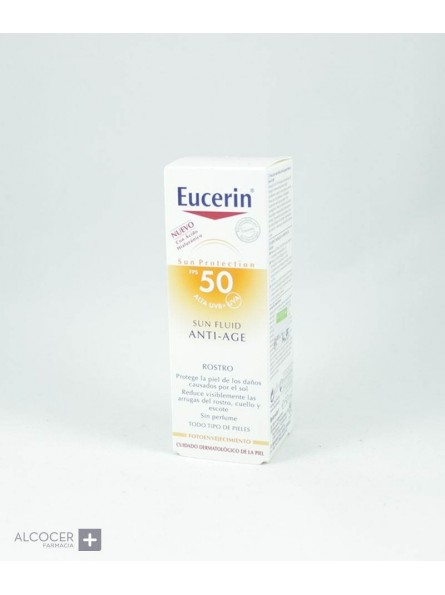 EUCERIN SUN SPF50+ PHOTOAGING FLUIDO 50 ML