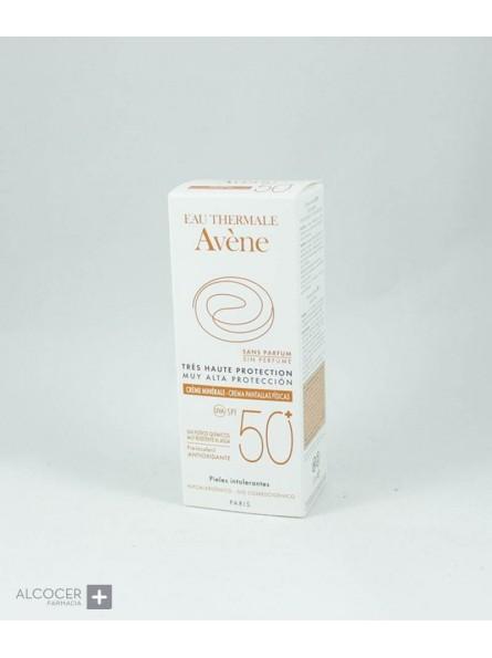 AVENE SOLAR SPF50+ CREMA MINERAL 50 ML