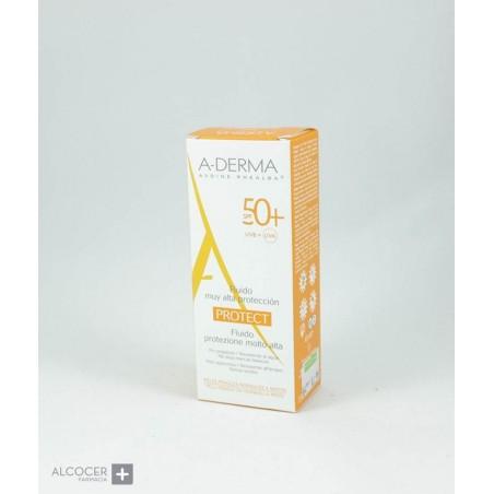 A-DERMA PROTECT FLUIDO SPF 50+ 40 ML