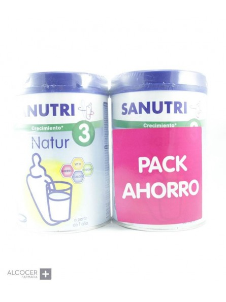 SANUTRI NATUR 3 PACK 2 X 800 G