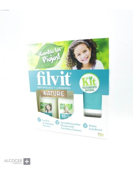 FILVIT KIT NATURE LOCION + ACOND 125 ML + 125 ML