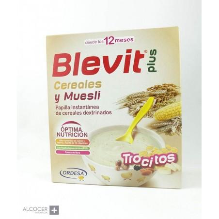 BLEVIT PLUS CEREALES Y MUESLI 600 G
