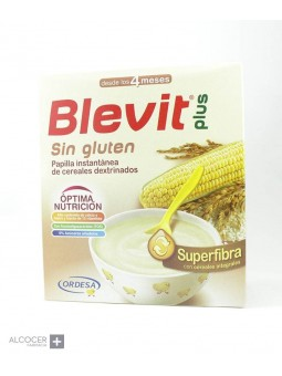 BLEVIT PLUS SUPERFIBRA SIN GLUTEN 600 GR