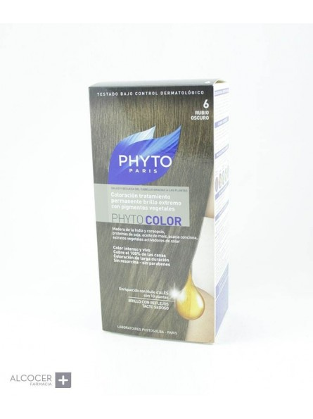 PHYTO COLOR 6 RUBIO OSCURO
