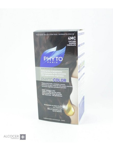 PHYTO COLOR 4MC CASTAÑO CALRO MARRON