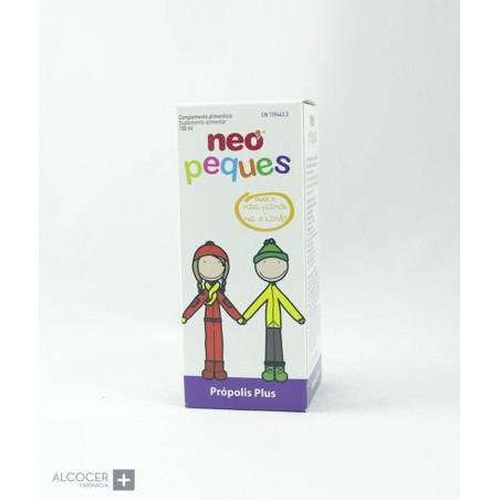 NEOPEQUES PROPOLIS PLUS SABOR MIEL Y LIMON150 ML (NP+)