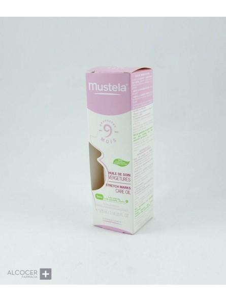 MUSTELA 9 MESES ACEITE ESTRIAS SPRAY 105 ML