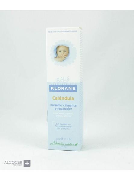 KLORANE BEBE BALSAMO CALMANTE Y REPARADOR 40 ML
