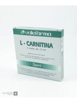 VALEFARMA L-CARNITINA 5 VIALES 10 ML