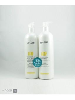 BABE JABON+FLUIDO HIDRA-CALM 2 X 500 ML