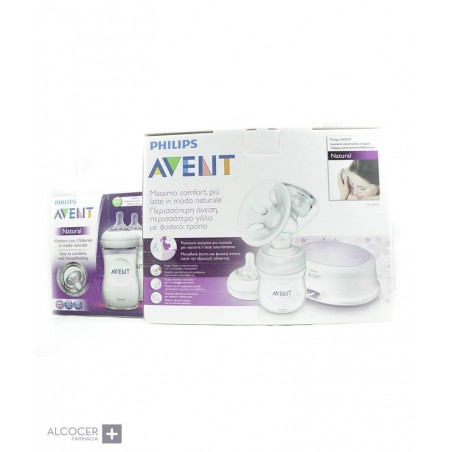 AVENT SACALECHE ELECTRICO NATURAL