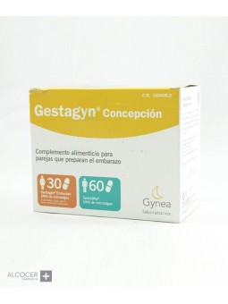 GESTAGYN CONCEPCION CAPS MUJER Y HOMBRE 30 CAPS