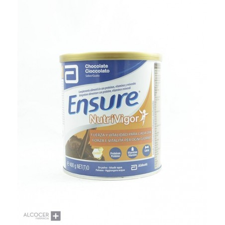 ENSURE NUTRIVIGOR CHOCOLATE 400 GR