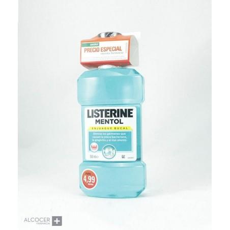 LISTERINE MENTOL 500 ML