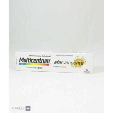 MULTICENTRUM EFERVESCENTE 20 COMPRIMIDOS