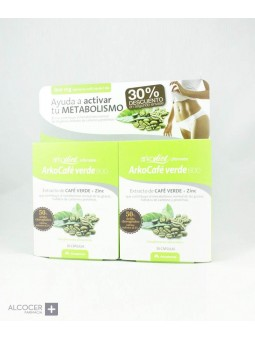 ARKODIET CAFE VERDE PACK 2 X 30 CAPSULAS
