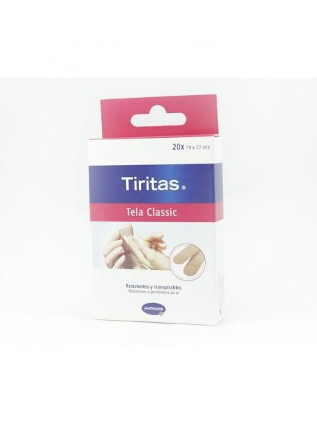 TIRITAS TELA CLASSIC 20 X 19X72MM