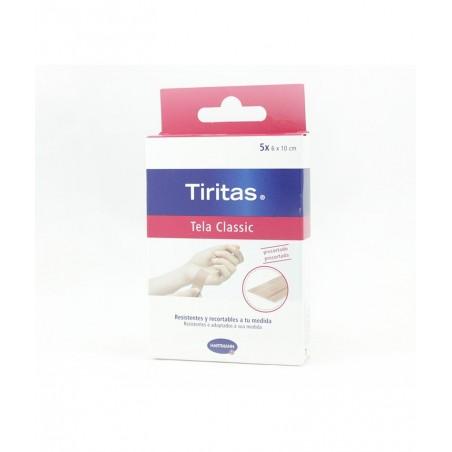 TIRITAS TELA CLASSIC PRECORTADAS 5 X 6X10CM
