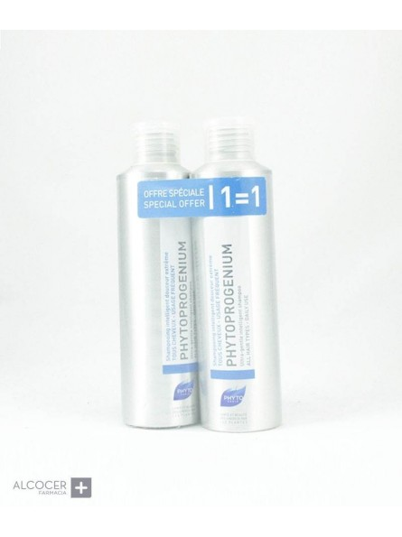 PHYTOPROGENIUM 1+1 CHAMPU INTELIGENTE 200 ML
