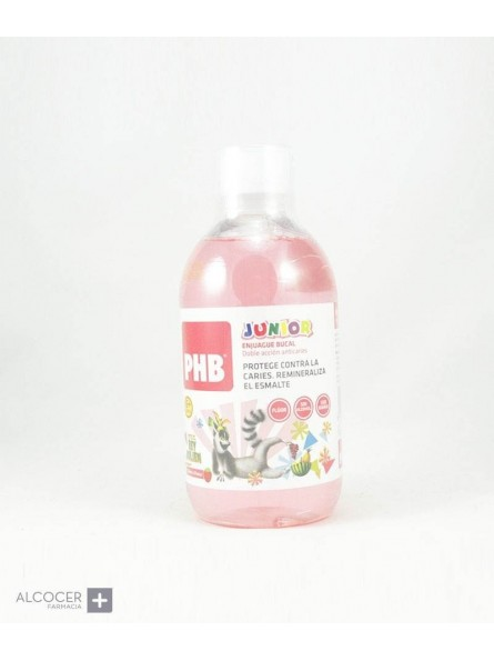 PHB JUNIOR ENJUAGUE BUCAL 500 ML +6 AÑOS