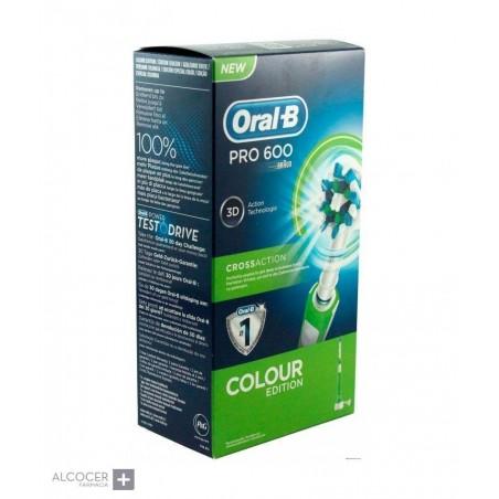 ORAL-B CEPILLO ELECTRICO PRO 600 COLOUR EDITION