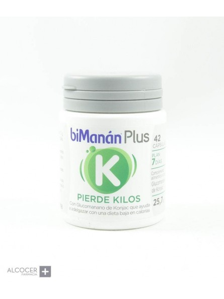 BIMANAN PLUS K PIERDE KILOS 42 CAPS