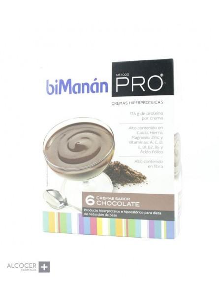 BIMANAN PRO CREMA CHOCOLATE 6 SOBRES