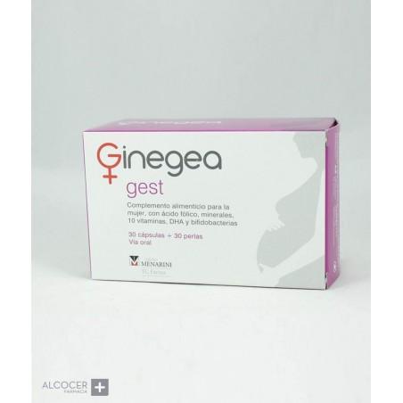 GINEGEA GEST 30 CAPS + 30 PERLAS