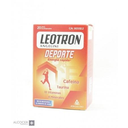 LEOTRON DEPORTE 20 SOBRES