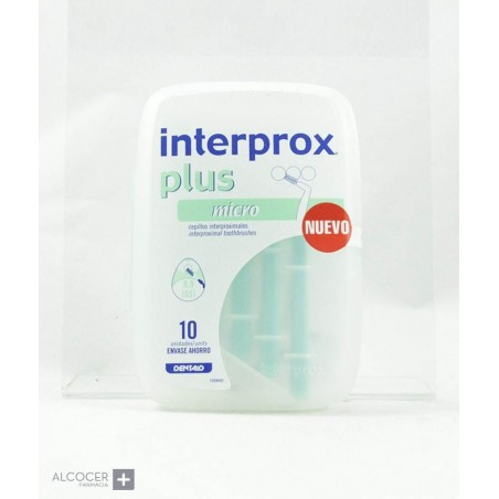 INTERPROX PLUS MICRO 10 CEPILLOS
