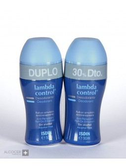 LAMBDA DUPLO DESODORANTE ROLL-ON EMULSION 2X50ML