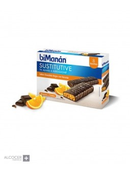 BIMANAN BEFIT CHOCOLATE-NARANJA 6 BARRITAS