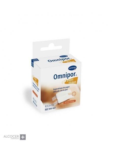OMNIPOR PAPEL CON DISPENSADOR 2.5CM X 5M