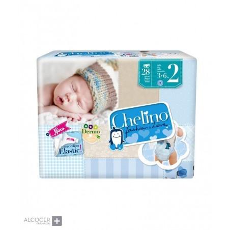 CHELINO PAÑAL T-2 (3-6 KG) 28 PAÑALES